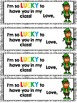 Leapin' Leprechauns: Gift Tag and Writing Activity