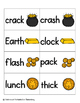 Leaping Leprechaun Phonics: Ending Digraphs Pack