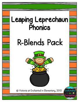 Leaping Leprechaun Phonics: R-Blends Pack