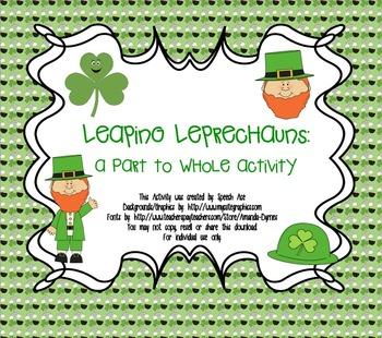 Leaping Leprechauns: a Part to Whole Activity