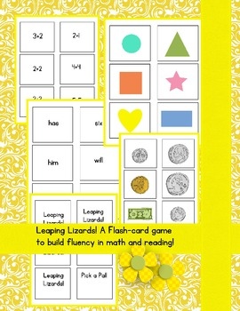 Leaping Lizards Flashcard Game