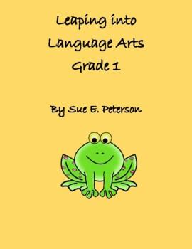 Leaping into Language Arts Grade 1