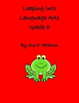 Leaping into Language Arts Grade 5