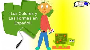 Learn Colors & Shapes in Spanish! - ¿Qué forma es y de qué