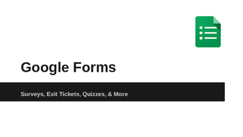 Learn Google Forms