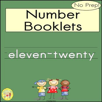 Numbers 11-20 Number Sense and Numeration Interactive Book