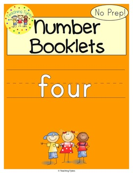 Number Four Number Sense and Numeration Interactive Book