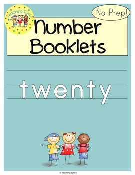 Number Twenty Number Sense and Numeration Interactive Book