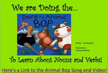 """Learn Nouns and Verbs by """"Doing the Animal Bop"""" - Slidesho"""