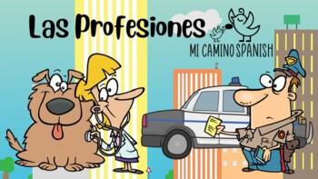 Learn Professions in Spanish! - ¿Quiénes son?