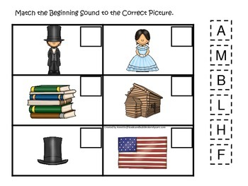 Learn about Abraham Lincoln. American history Beginning So
