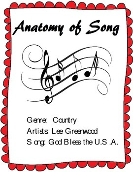 Learn the Parts of a Song - Analysis of Lee Greenwood's Hi