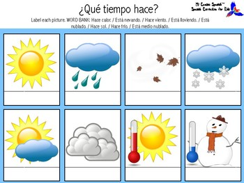 Learn the Weather in Spanish!