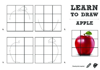 Learn to Draw : APPLE - Page 1 Sample