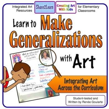 Make Generalizations with Art