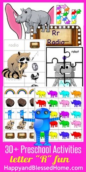 Learn to Read Letter R Activity Pack