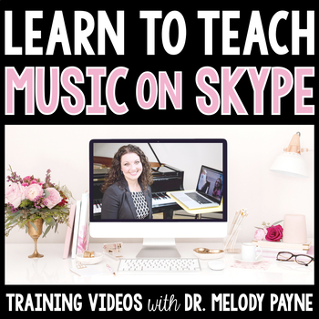 Learn to Teach Music Lessons on Skype {Training Videos for
