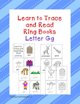 Learn to Trace and Read Ring Book Gg