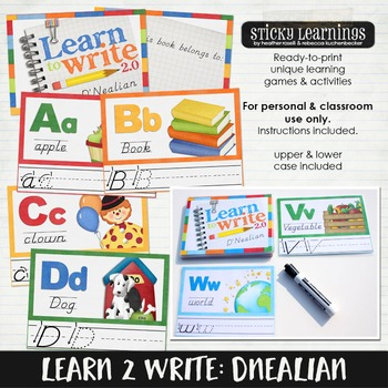 Learn to Write: Dnealian