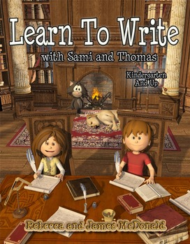 Learn to Write with Sami and Thomas-Penmanship