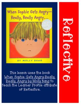 Learner Profile Lesson: Reflective