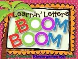 Learnin' Letters Boom Boom
