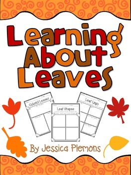 Learning About Leaves Graphic Organizers