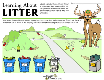 Recycling: Learning about Litter