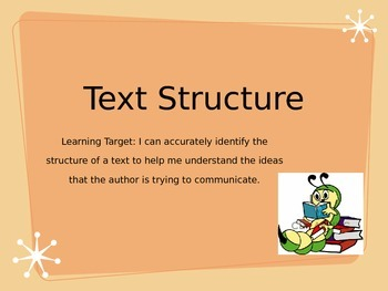 Learning About Text Structures