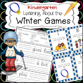 Learning About the Winter Olympics: Literacy & Math Activi