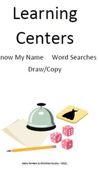 Learning Centers For Beginning School