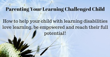 Learning Challenged Child Mindfulness and Learning Disabil