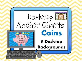 Learning Coins Desktop Anchor Charts