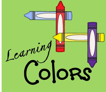 Learning Colors Book (Toddler & Preschool)