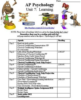 Learning Complete Unit for Psychology