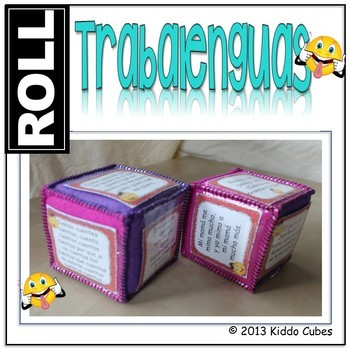 Learning Cube Trabalenguas