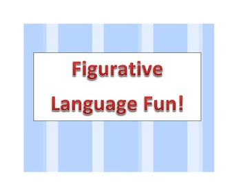 Learning Figurative Language with Games
