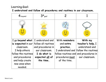 Learning Goal and Scale for Behavior
