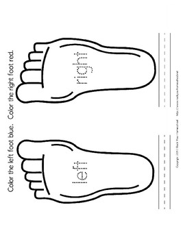 Learning Left & Right with The Foot Book