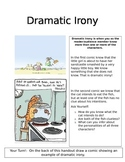 Learning Literary Terms With Cartoons: Dramatic Irony