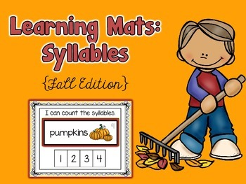 Fall Syllable Learning Mats