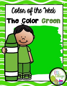 Learning My Colors {green}