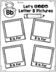 Learning My Letters B