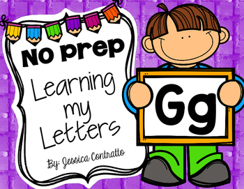 Learning My Letters G
