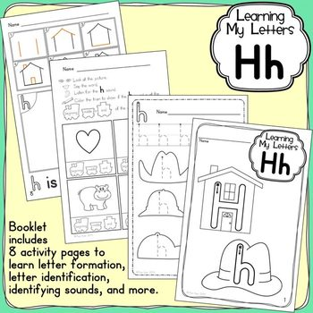Alphabet Activities: Learning My Letters [Hh]