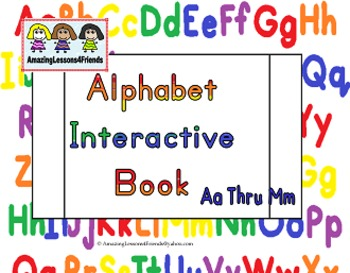Learning My Letters Interactive Books Aa Thru Zz