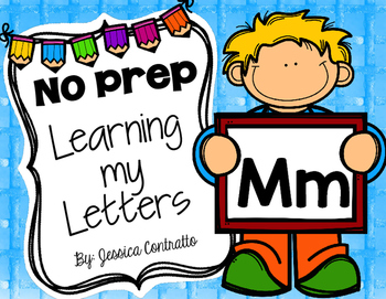Learning My Letters M