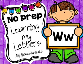 Learning My Letters W