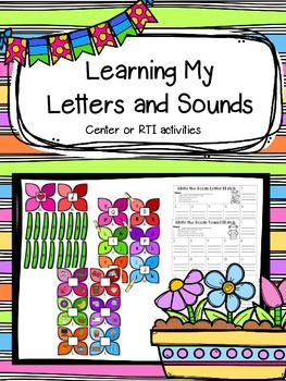 Learning My Letters and Sounds