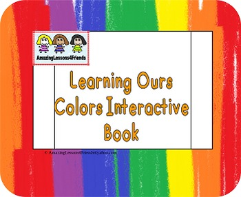 Learning Our Colors Interactive Books